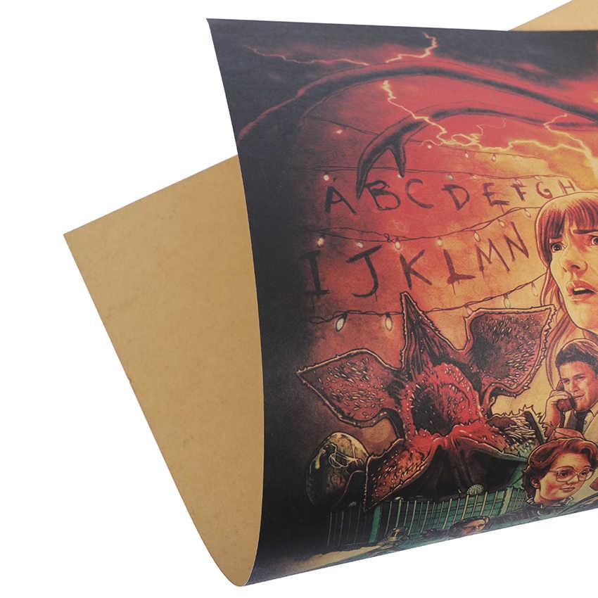 TIE LER TV drame personnages affiche café barres cuisine décor affiches ornement Vintage affiche rétro Kraft papier Stickers muraux