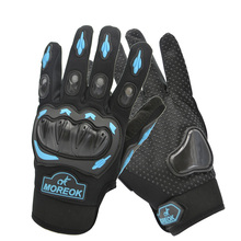 цена на Cycling Gloves Motorcycle Gloves Winter Summer Motorbike Luvas Guantes Motocross Protective Gear Racing Gloves Outdoor Sports