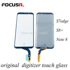 Image 1 - オリジナル携帯電話のタッチパネルデジタイザセンサータッチスクリーン外側ガラスの交換サムスンS7edge S8 + Note8画面