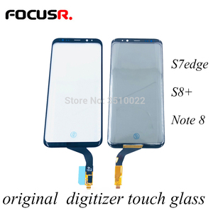 Image 1 - โทรศัพท์มือถือเดิมTouch Digitizer Sensor Touchหน้าจอกระจกด้านนอกสำหรับSamsung S7edge S8 + Note8หน้าจอ