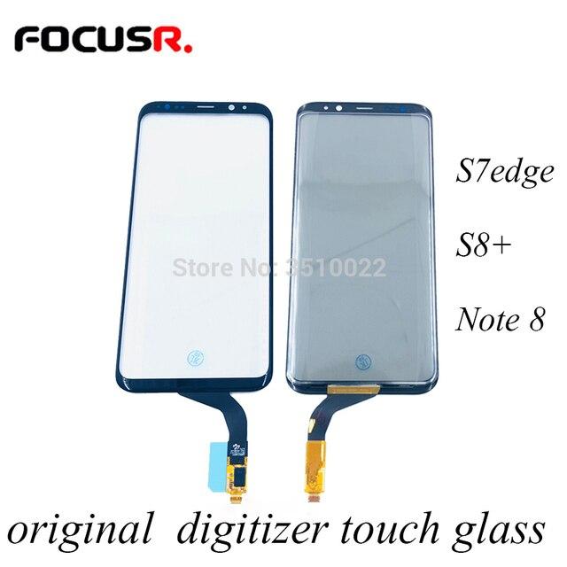 โทรศัพท์มือถือเดิมTouch Digitizer Sensor Touchหน้าจอกระจกด้านนอกสำหรับSamsung S7edge S8 + Note8หน้าจอ