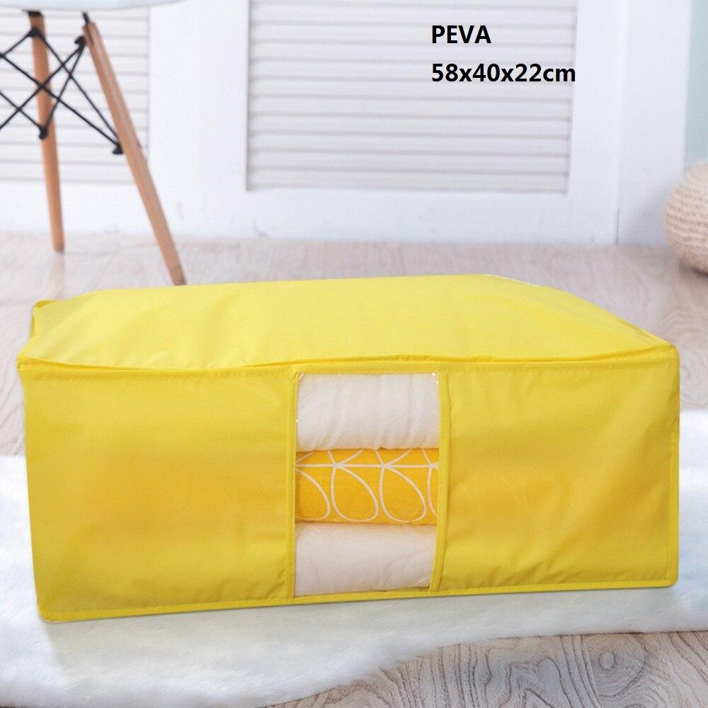 Одежда, одеяло, сумка для хранения, шкаф для одеял органайзер для свитера, коробка для сортировки, мешки, шкаф для одежды, контейнер для путешествий, дома, Прямая поставка - Цвет: C1