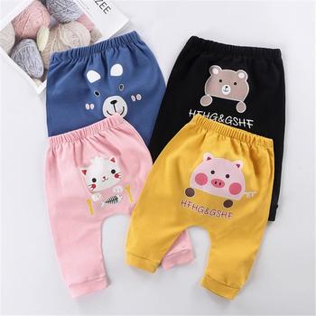 0-4Y niemowlęce chłopięce dziewczęce spodnie bawełniane dziecięce chłopięce spodnie jesienne miękkie duże PP chłopięce luźne spodnie tanie i dobre opinie Cindy YoYo CN (pochodzenie) Wiosna i jesień Dziecko dla obu płci W wieku 0-6m 7-12m 13-24m 25-36m W stylu rysunkowym baby