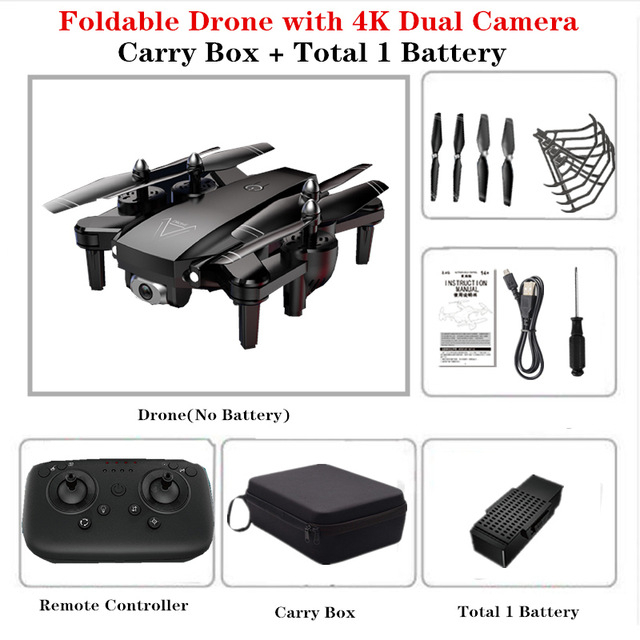 4K L103 Rc Helicopters Camera Wifi Fpv Drone GPS Drone Altitude 2.4g Optical Flow Position Drone Camera Rc Toys For Kid A809