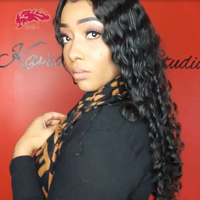 250% Density Custom Wig Brazilian Water Wave 13x4 HD Lace Frontal Wig 4x4 Lace Closure Wigs Virgin Remy Human Hair Wigs