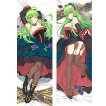 Anime Code Geass C.C Dakimakura Hugging Body Pillow Case DIY Cushion Pillow Cover 6 Sizes High Quality(China)
