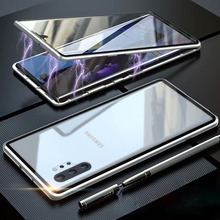 For Samsung Galaxy Note 10 Plus Cover Coque Magnetic Case Samsung.S 8.S 9.S 10.Plus Note8 Note9 Cases