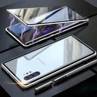 Pour Samsung Galaxy Note 10 Plus Coque étui pour Samsung magnétique. S 8.S 9.S 10.Plus étui pour Samsung Note8 Note9