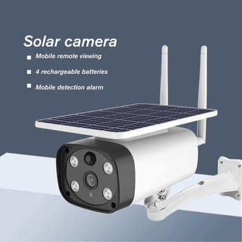 5W Wireless Solar Camera 1920X1080 0 Solar Camera Remote Alarm Prompt Alarm Prompt Can Select Push Message And Incoming Call