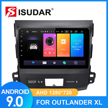ISUDAR Radio del coche para MITSUBISHI/OUTLANDER 2007-2012 2 din Android 9 Autoradio Multimedia Cámara DVR con GPS RAM 2GB ROM 32GB USB FM