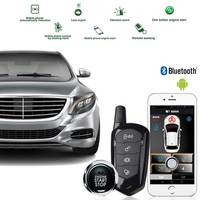 PKE Remote Starter Keyless Access System With One Key, And The Mobile Phone Automatically Induces The Car To Open/Leave The Lock