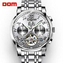 DOM Watch Men Mechanical Watches Sport W