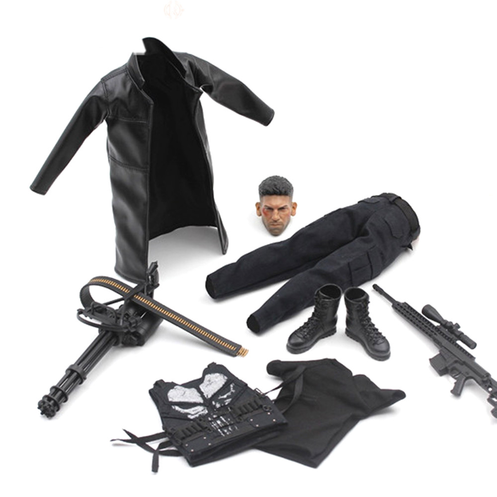 1//6 Scale Blade Warrior Vampire Hunter Wesley Snipes Leather Suit Clothing