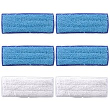 Washable Mopping Pads for iRobot Braava Jet 240 241 Included (4 pcs Wet Pads, 2 Dry Pads)