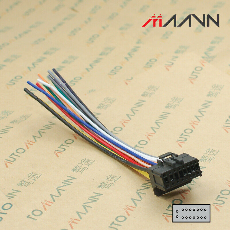 Car Stereo CD DVD Radio Wiring Harness For PIONEER Cable Aftermarket 2150  2250|Cables, Adapters & Sockets| - AliExpressAliExpress