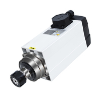 3.0/3.5/4.5/6/7.5kw high speed electric HQD spindle motor for cnc machines