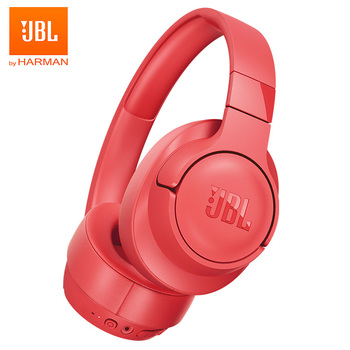 JBL TUNE 700BT Wireless Bluetooth Headphones Pure Bass Earphone Gaming Sports Headset Multi-Point Connection Handsfree with Mic Electronics Wireless Earphones