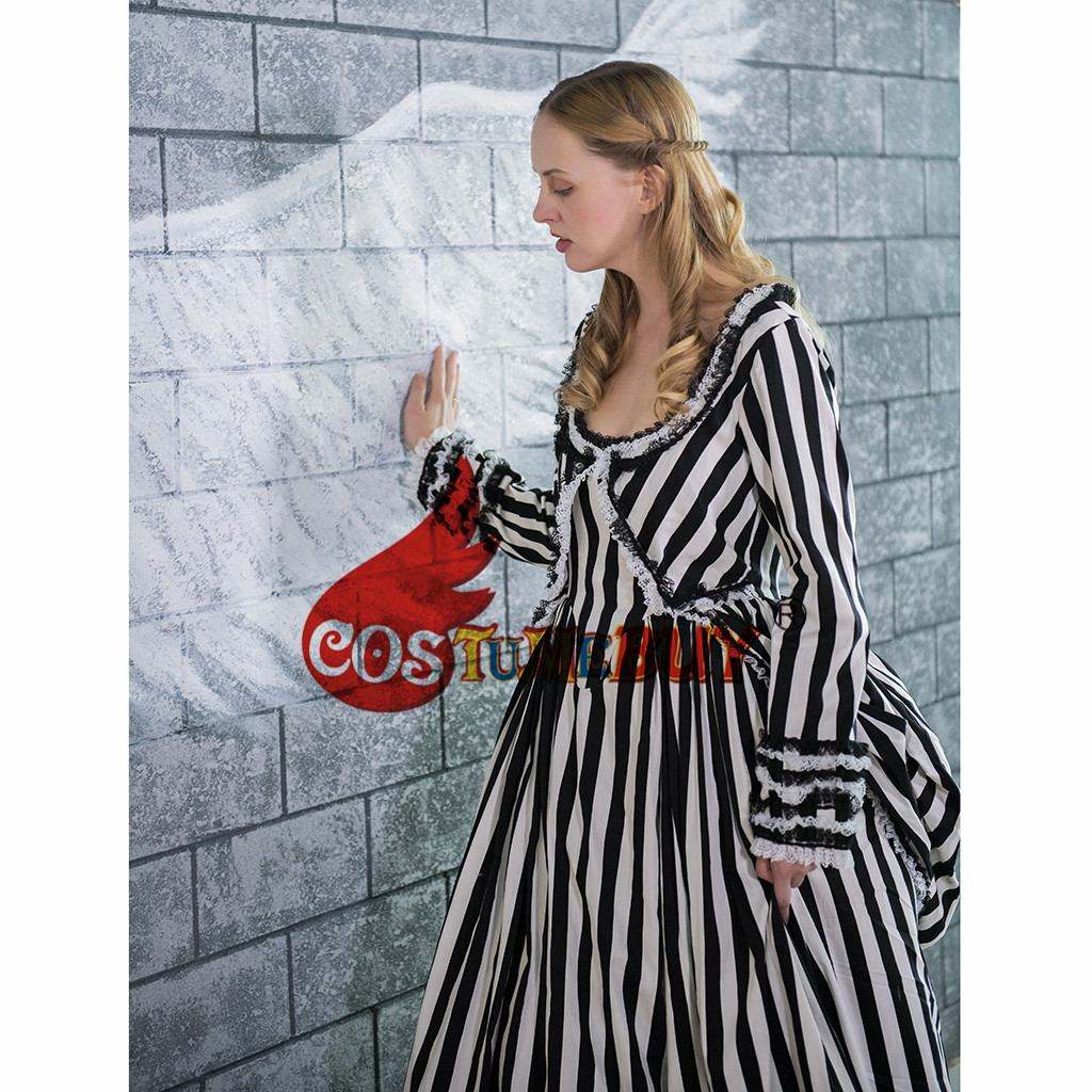 Costumebuy Katrina Sleepy Hollow Colonial Polonaise Cosplay Gothic Victorian Dress ladies Pirate Bustle Medieval Period Costume