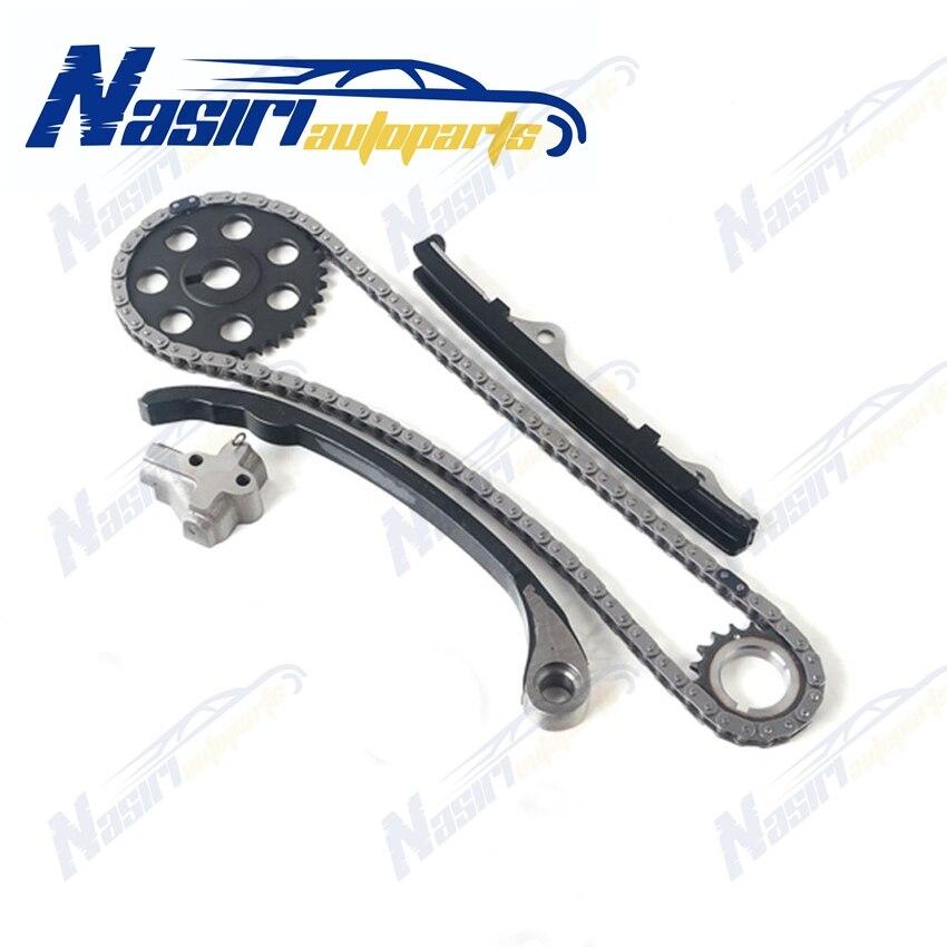 Timing Chain Oil Water Pump Kit Fits 89-97 2.4L Nissan 240SX D21 Pickup KA24E