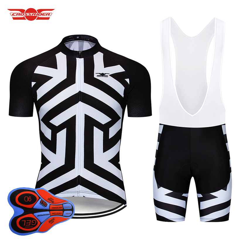 2020 Pro Team Cycling 9D Set Jersey <font><b>Bike</b></font> <font><b>Wear</b></font> Ropa Ciclismo Mens Summer Quick Dry Bicycle Clothes Short Maillot Culotte image