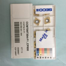 10PCS CARBIDE INSERT CCMT09T304-F1 CP500