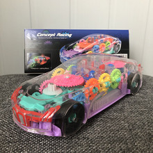 Mechanical-Gear Electronics Light Music Girls Children New Car Driving Birthday-Gifts
