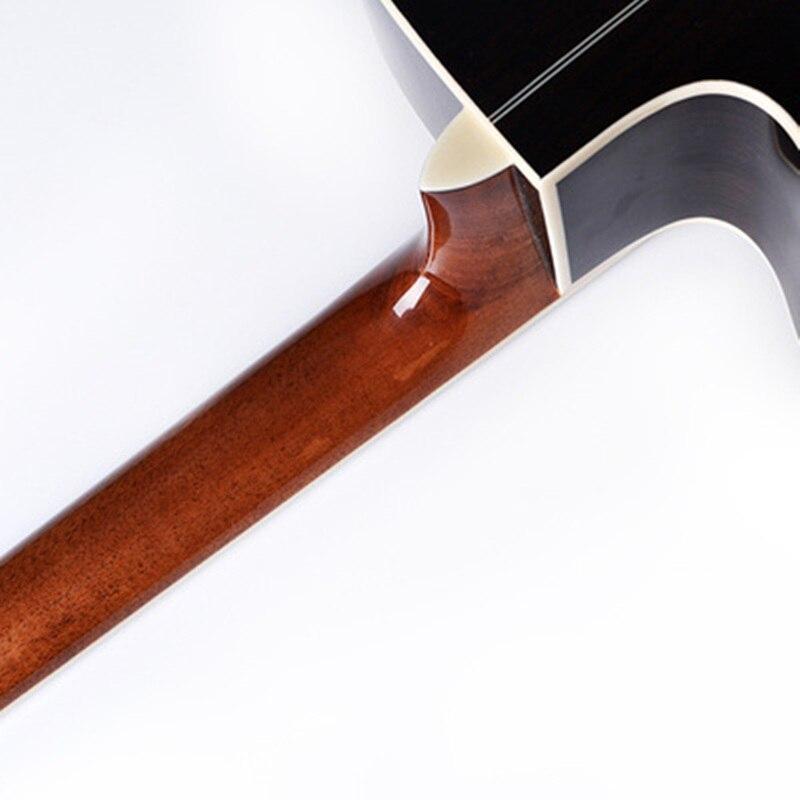 Guitare 40/41 pouces haute qualité guitare 6 cordes épicéa Rose acajou guitare haute brillance haut rigide GuitarAGT150 - 2