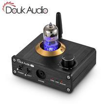 Douk Audio Bluetooth 5.0 Tube wzmacniacz słuchawkowy Mini Stereo Audio przedwzmacniacz USB DAC karta dźwiękowa APTX LL odbiornik Audio