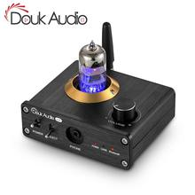 Douk аудио Bluetooth 5,0 ламповый усилитель для наушников, мини стерео аудио усилитель, USB цап звуковая карта, аудио ресивер, аудио адаптер, аудио карта, аудио приемник, аудио усилитель, аудио адаптер