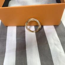 Bague de mariage en laiton avec anneau en zircon pour femme, design simple, bouton