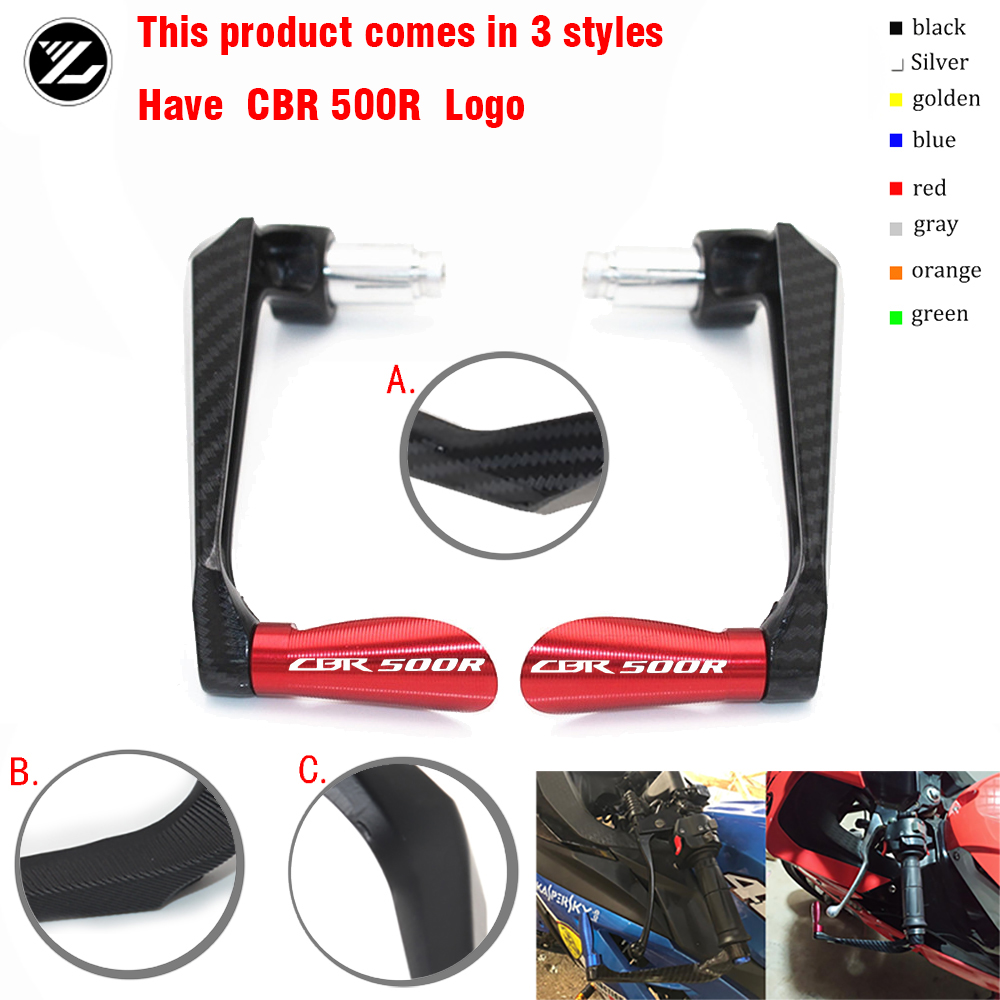 Motocycle Handlebar Handle grips Bar Ends Brake Clutch Levers Guard Protector For HONDA <font><b>CBR500R</b></font> 2014 2015 2016 2017 <font><b>2018</b></font> 2019 image