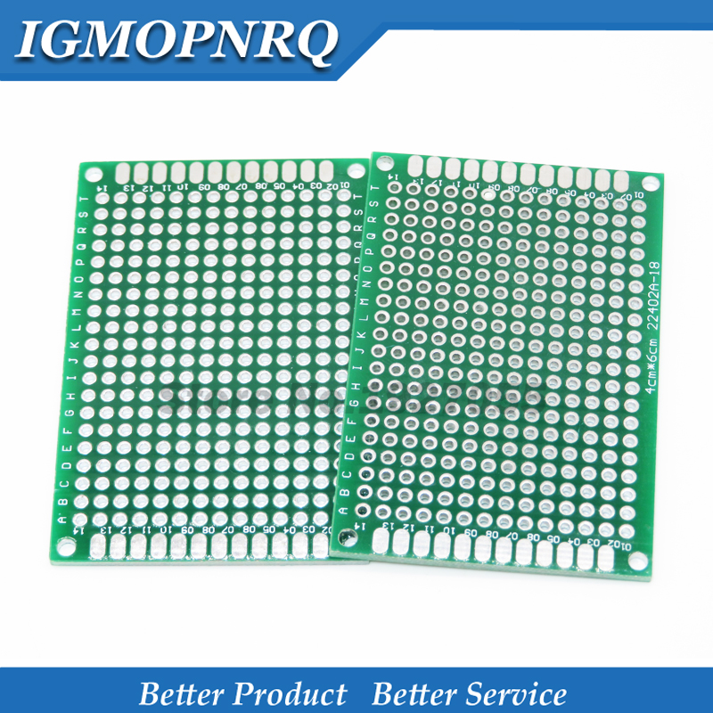1pcs 4x6cm 4*6 Double Side Prototype PCB Diy Universal Printed Circuit Board Hjxrhga