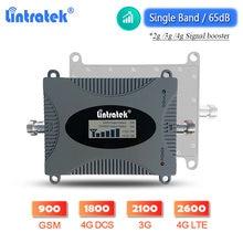Усилитель сигнала Lintratek 900 GSM 2G 3G 4G DCS 1800 band 7 LTE 2600 однодиапазонный сотовый телефон ретранслятор WCDMA 2100 сотовый усилитель