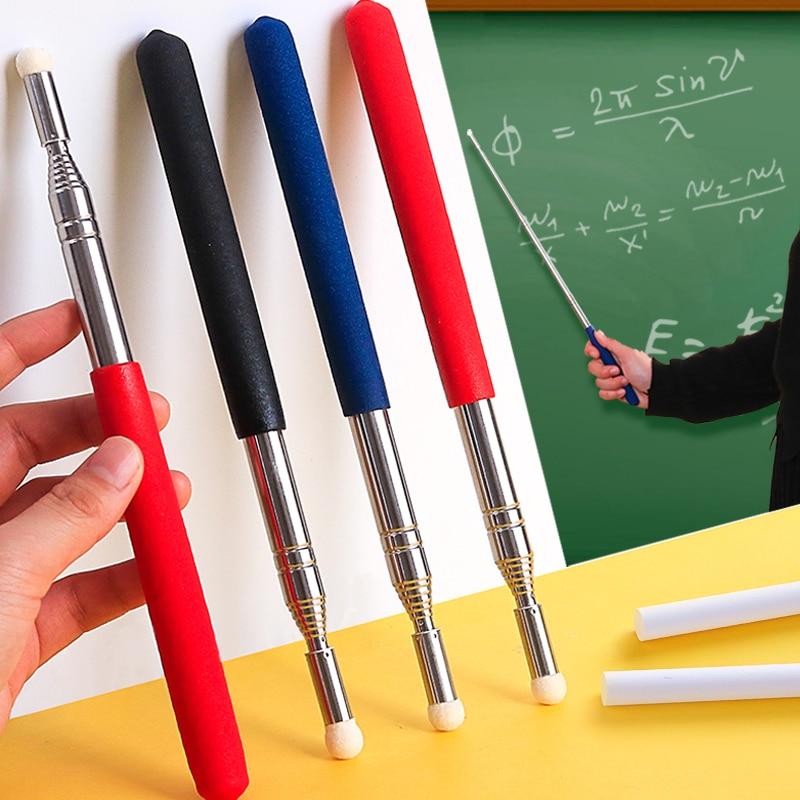 Retractable Teacher's Special Pointer Blackboard Teaching Stick Class Command Stick White Board Touch Screen classroom pointer