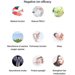 Image 3 - USB Portable Wearable Air Purifier, Personal Mini Air Necklace Negative Ion Air Freshener   No Radiation Low Noise for Adults