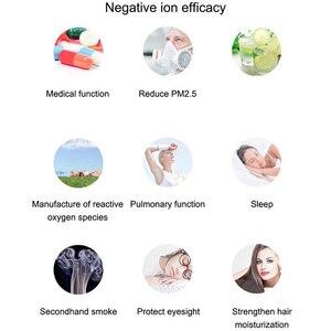 Image 3 - USB taşınabilir giyilebilir hava temizleyici, kişisel Mini hava kolye negatif iyon hava spreyi radyasyon düşük gürültü yetişkinler için