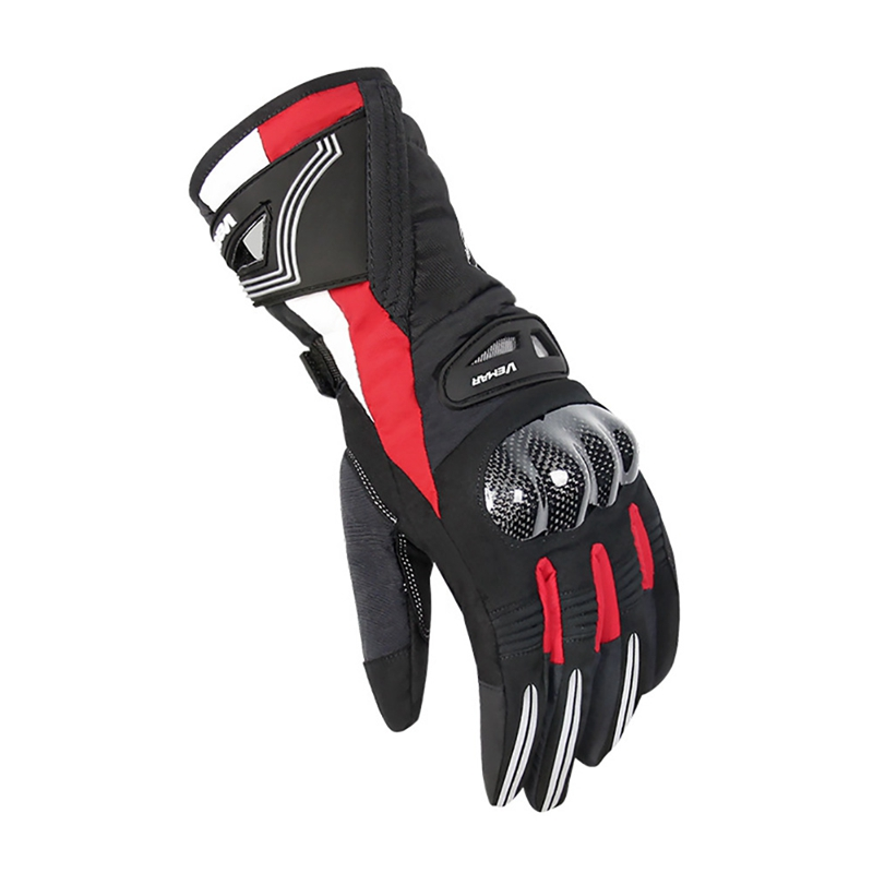 Outdoor Sport Cycling Gloves Full Finger Thick Windproof Waterproof Sports For Motorcycle Riding Protective Glove Accessories in Cycling Gloves from Sports Entertainment