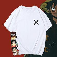 Camisa de manga curta harajuku anime t camisa de algodão dos homens das mulheres camiseta solta harajuku tshirt