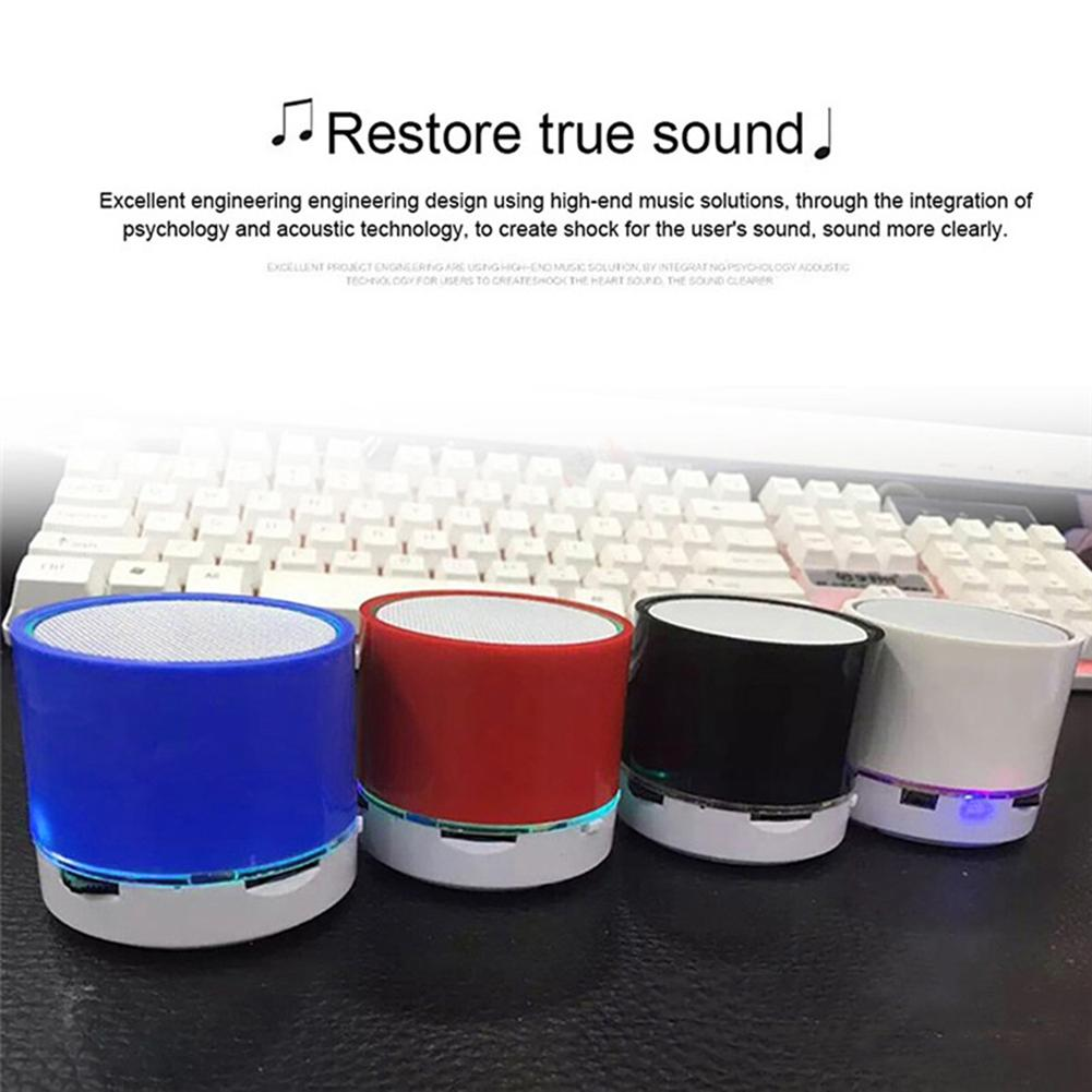 S10 Stereo Bluetooth Speaker Support U Disk TF Card Universal Mobile Phone Music  Mini Wireless Outdoor Portable Woofer