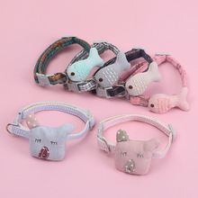Harness-Accessories Collar Leash Pet-Product Pets Safety Elastic Adjustable Small Cute