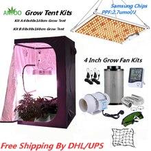 Комнатная палатка для выращивания растений 60 см/80 см/100 см