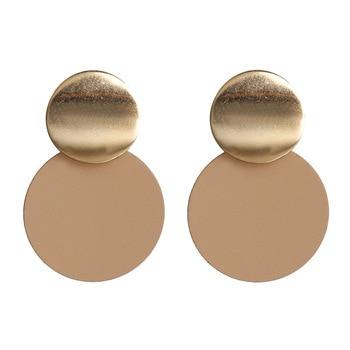 Earring For Women Girls Dangler Eardrop Summer Bohemian Fashion Cute Geometric Round Gift Party Colorful Jewelry 4