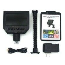 G600 8LED 600X Portable LCD Digital Microscope 4.3