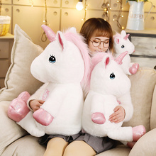 35-80cm Lovely Unicorn Plush Toy Stuffed Kawaii Soft Toys for Children Creative Birthday Gift Girls Lovers