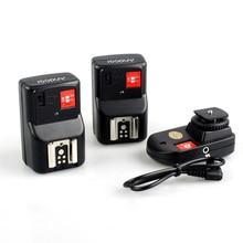 Andoer – télécommande sans fil 4 canaux Speedlite, déclencheur de Flash, 1 transmetteur et 2 récepteurs pour Canon, Nikon, Pentax, Olympus