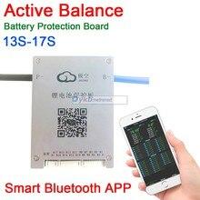 3S 17S 60A Active Balance Battery Protection Board BMS Balance 4S 7S 8S 10S 13S 14S 16S Smart Bluetooth APP Lifepo4 li ion LTO