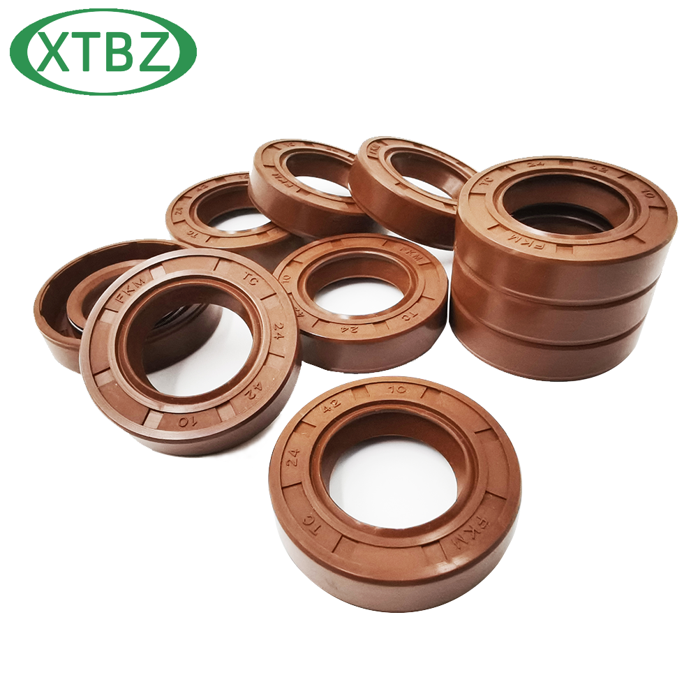 FKM Oil Seal Rotary Shaft TC-12*18/19/20/21/22/24/25/26/27/28/30/32/35/37*5/6/7/8/10 13*24/26/28*7 High Temperature Resistance
