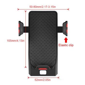 BikeTool - 4 in 1 Bicycle Phone Holder (Phone Holder, Power Bank, Headlights, Horn) 4