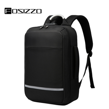 Travel Laptop Backpack Water Resistant Anti-Theft Bag with USB Charging Port and Lock College Student Backpack Mochila FS4006
