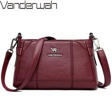 Luxury Soft Leather Handbags Women Messenger Bags Designer Vintage Crossbody Bags for Women Shoulder Bag Ladies Hand bag Mochila